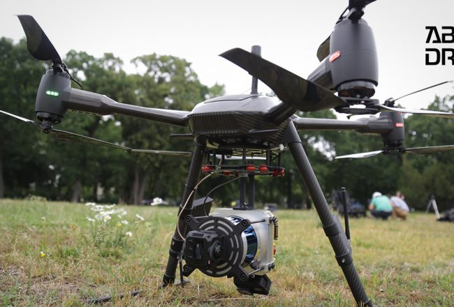 How do drone-mounted LIDAR laser cameras work and in which areas can they be useful?
