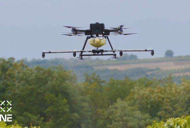 Precíziós gazdálkodás mezőgazdasági drónokkal
