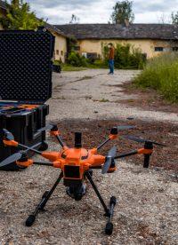 3D modellezés drónnal – a babatpusztai kastély felmérése