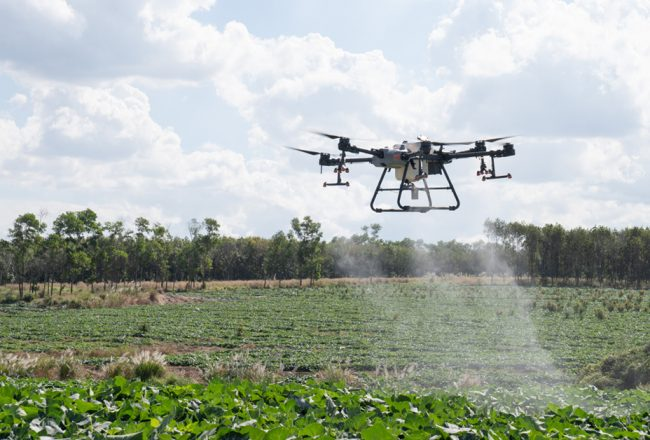 A new chapter in the history of spray drones
