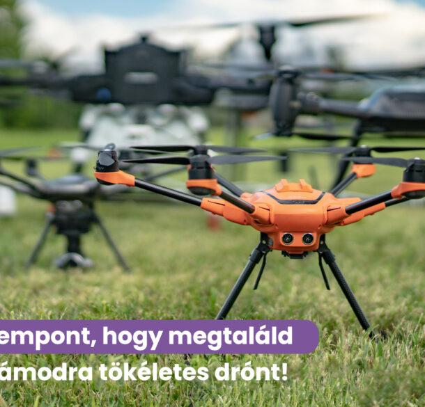 5 szempont, amit érdemes figyelembe venni drón vásárláskor
